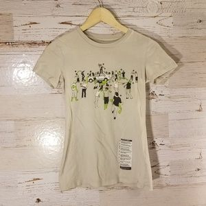 """Threadless """"In Case of Zombies"""" graphic tee"""